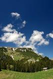 横向山罗马尼亚 免版税图库摄影