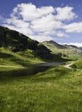 横向山苏格兰 图库摄影
