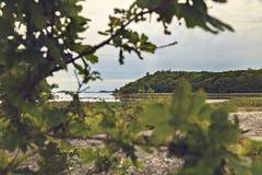横向岩石海运 库存照片