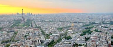 横向巴黎 库存图片