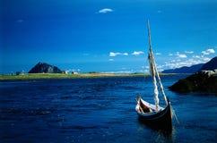 横向挪威海运 库存照片