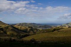 横向新西兰 图库摄影