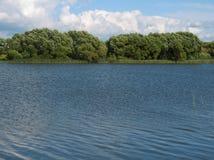 横向水 免版税图库摄影