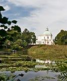 横向池塘 免版税图库摄影