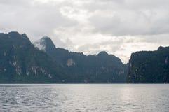 横向泰国 库存照片