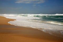 横向海洋 库存照片