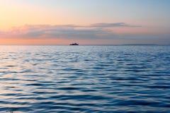 横向海运 库存图片