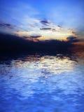 横向海运 库存照片