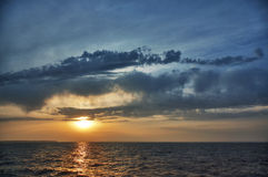 横向海运 免版税库存照片