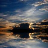 横向海运 免版税图库摄影