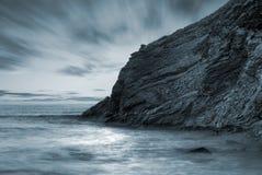 横向海洋 库存图片