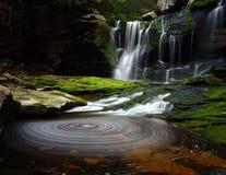 横向瀑布 库存图片