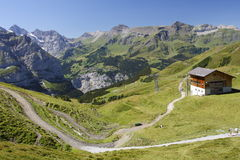横向瑞士 库存照片