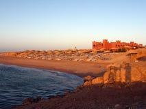 横向红海 免版税库存照片