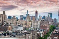 横向纽约 库存照片