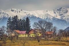 横向罗马尼亚农村 免版税图库摄影
