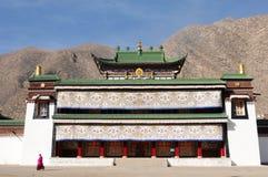 横向西藏 免版税库存照片
