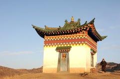 横向西藏 图库摄影