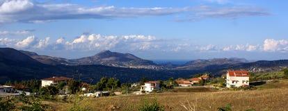 横向西西里岛 免版税库存照片