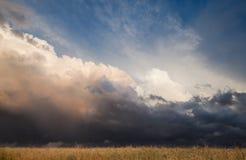 横向风暴 免版税库存图片