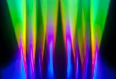 横幅上色曲线例证滤网没有彩虹向量空白 库存照片