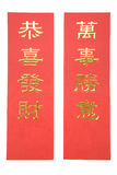 横幅中国新年度 免版税库存图片