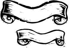 横幅二 免版税库存图片
