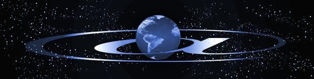 横幅互联网行星