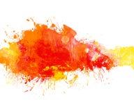 横幅五颜六色的grunge 免版税库存图片