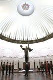 横幅仪式调用胜利 免版税库存图片