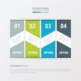 横幅传染媒介绿色设计4的项目,蓝色,灰色颜色 向量例证