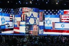 大气在AIPAC会议 库存图片