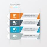 横幅和标签设计橙色,蓝色,灰色颜色 库存例证