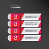 横幅和标签设计氖桃红色 皇族释放例证