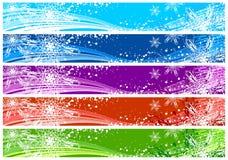 横幅圣诞节万维网 库存照片