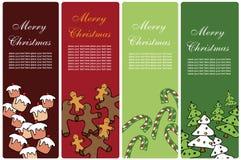横幅圣诞节 免版税图库摄影