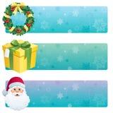 横幅圣诞节 向量例证