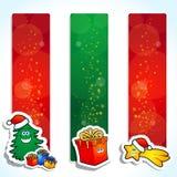 横幅圣诞节 免版税库存图片