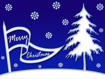 横幅圣诞节 免版税库存照片