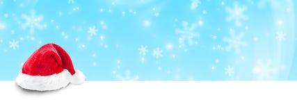 横幅圣诞节eps10例证向量 免版税库存照片