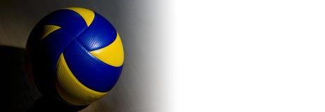 横幅排球 库存照片