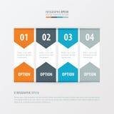 横幅橙色传染媒介的设计,蓝色,灰色颜色 库存例证