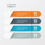 横幅环绕了橙色的设计,蓝色,灰色颜色 向量例证