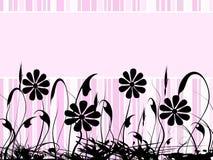 横幅粉红色 图库摄影