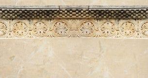 横幅装饰石头 免版税库存图片