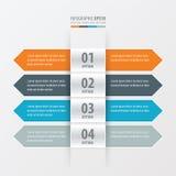 横幅设计橙色箭头的样式,蓝色,灰色颜色 向量例证