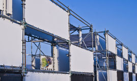 横幅钢结构 免版税库存图片