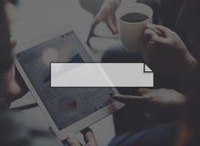 横幅给公告信息概念做广告 免版税库存图片