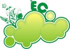 横幅eco 库存照片