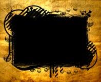 横幅grunge老纸张 皇族释放例证